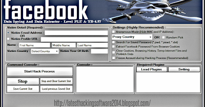 Smorsik Johan: Latest Facebook Account Hacking Software 2014