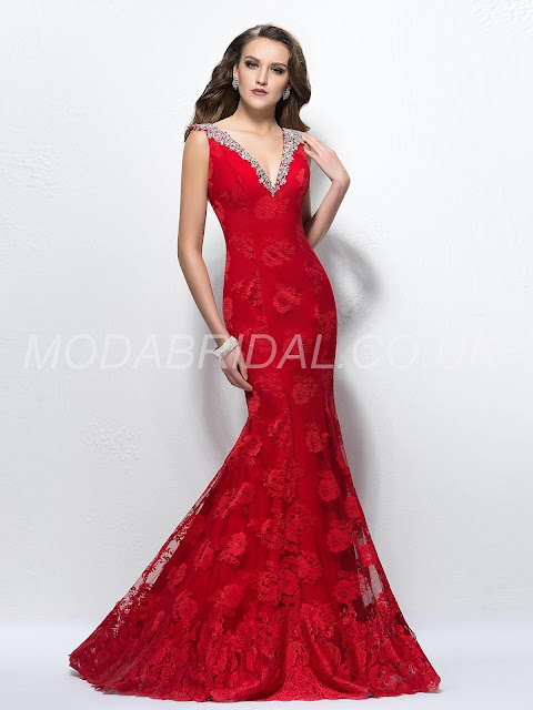 Customized Beading Floor-Length Evening Sweep/Brush Spring Lace V-Neck Sequins Dress