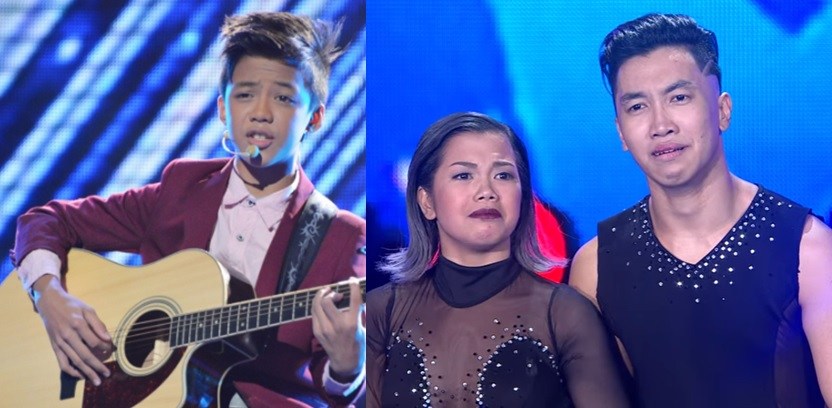 Pilipinas Got Talent Grand Finalists Kurt Philip Espiritu and Power Duo.