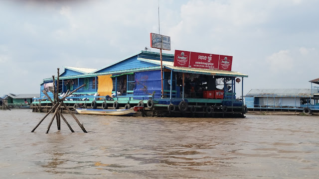 Poblado Flotante de Chong Kneas (Siem Reap - Camboya)