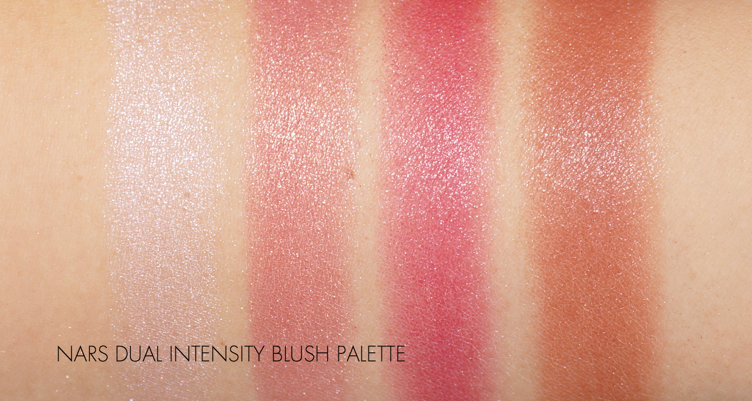 The Beauty Look Book - NARSissist Dual-Intensity Blush Palette Swatches