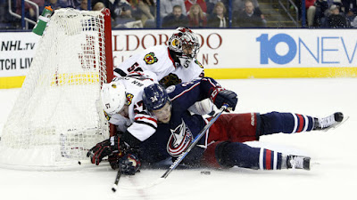 Observations from the Blackhawks' 3-2 loss to the Blue Jackets