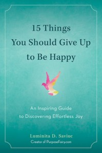 Image of a  book entitled Fifteen Things You Should Give Up To Be Happy