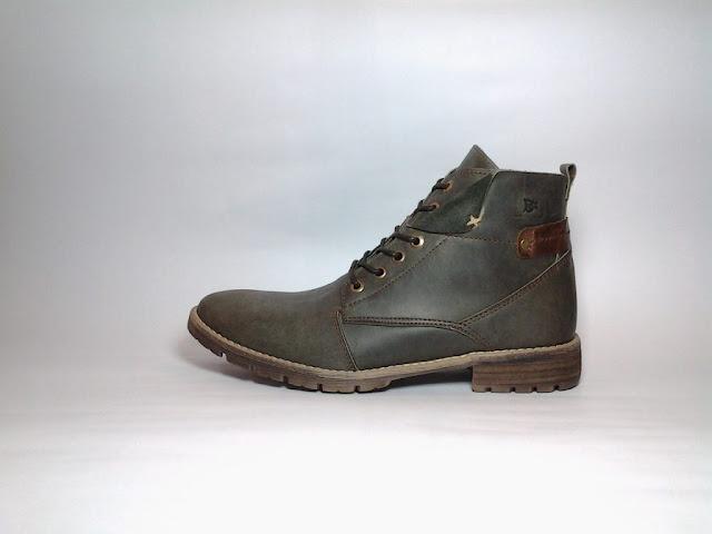 Chaussures montante hommes pas cher - Haut de gamme, Bottines marques de luxe, collection automne hiver 2019