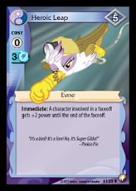 My Little Pony Heroic Leap Equestrian Odysseys CCG Card
