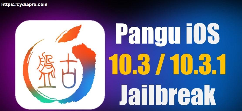 Pangu iOS 10 3 1 Jailbreak