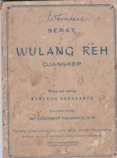 Wulang Reh.