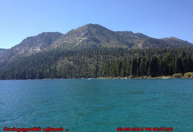 Lake Tahoe Sierra Nevada mountain range
