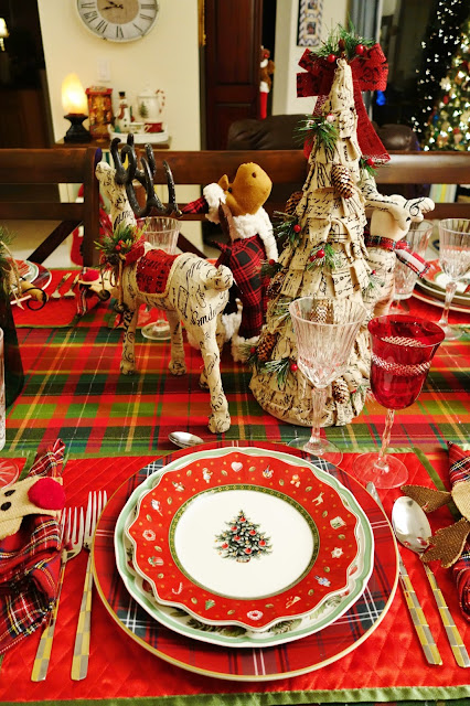 I had to mix my goblets because I could not find a complete set. I am still organizing the garage and so much more work now because we just brought more ... : villeroy and boch christmas dinnerware - pezcame.com