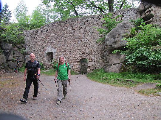 Opuszczamy Zamek Bolczów.