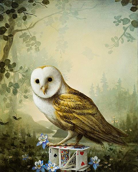 A Jovem Coruja - Kevin Sloan e suas pinturas mágicas