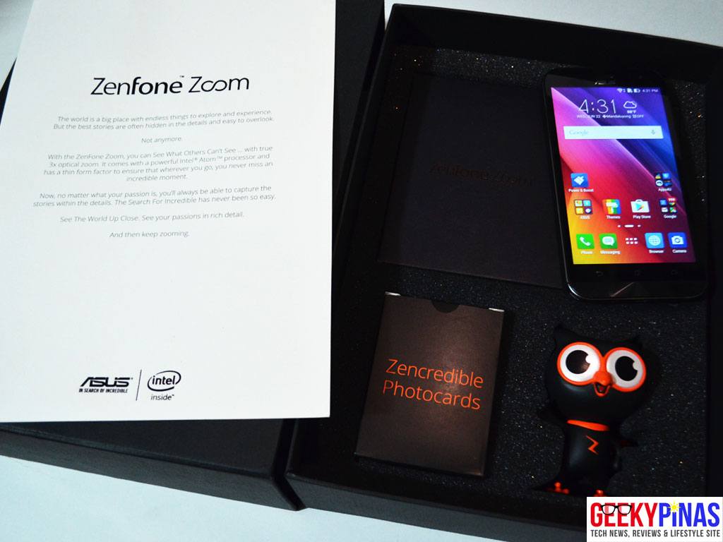 ASUS Zenfone Zoom (ZX551ML) Media Kit