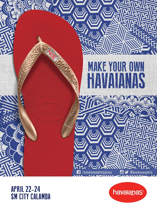 Make Your Own Havaianas 2016 is turning Japanese