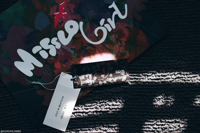 日本人ファッションブロガー,Mizuho K,購入品,from MissCo Girl,マルチカラー、トリコロールカラー、スタッズ、クラッチバッグ