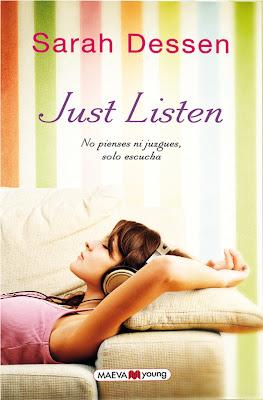 Resultado de imagen de just listen libro