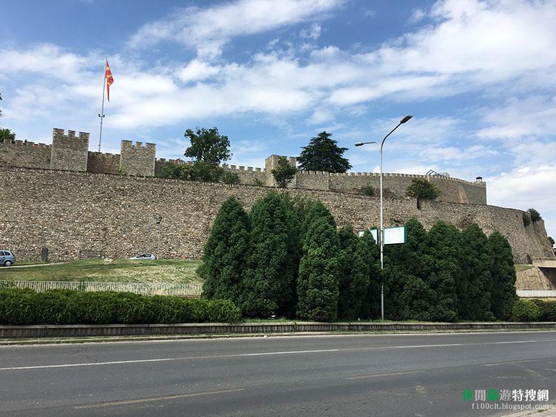 [北馬其頓共和國.史高比耶] 位在首都上的制高點-史高比耶要塞 舊城區也是很好逛的地方