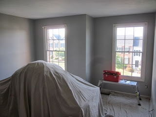 Townehouse interior painting