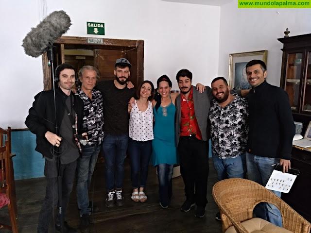 La segunda temporada de Mambo, la serie web líder de audiencia en España, incluirá una telenovela grabada íntegramente estos días en La Palma