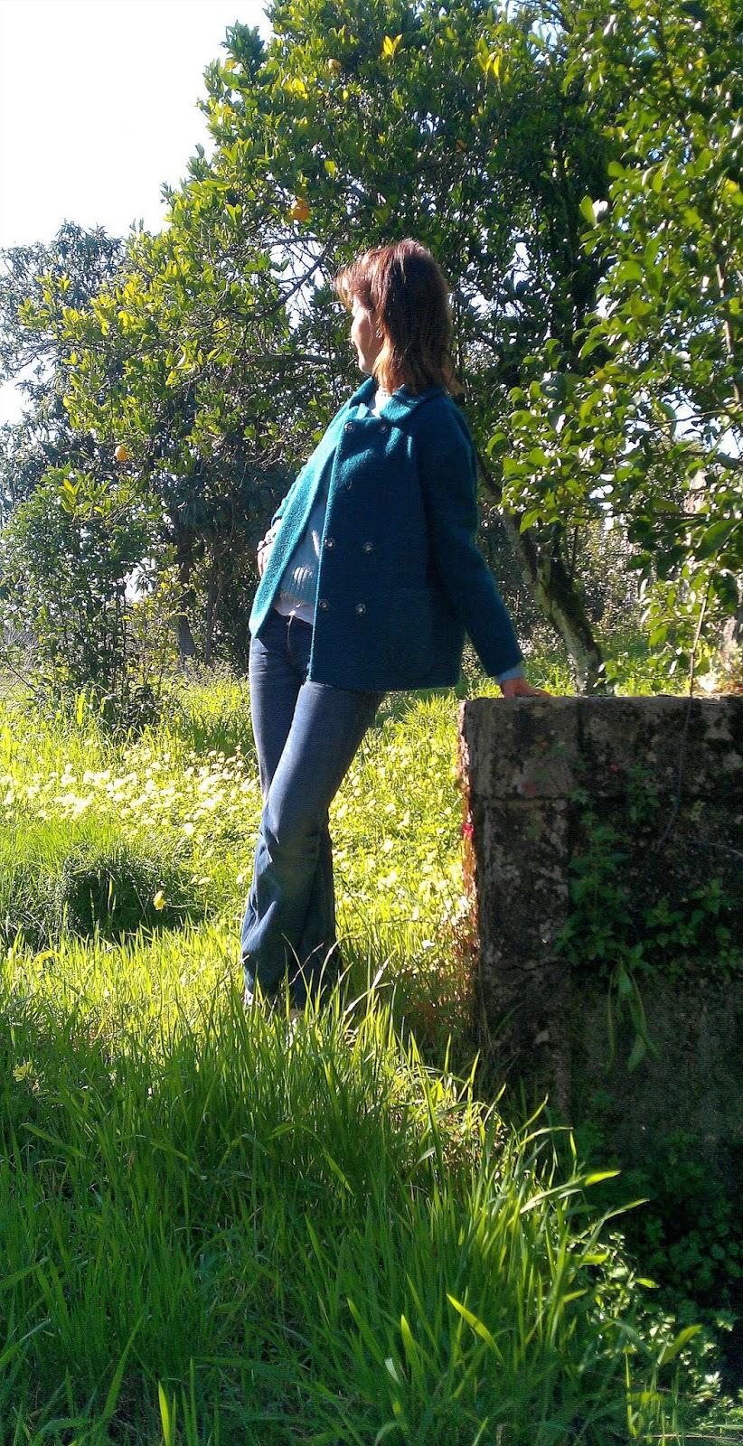 O Blog da Maria: Cores da Primavera. Quinta da Pena em Povolide, Viseu.
