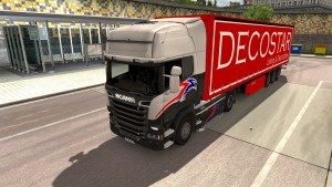 Fruehauf Maxispeed trailers pack