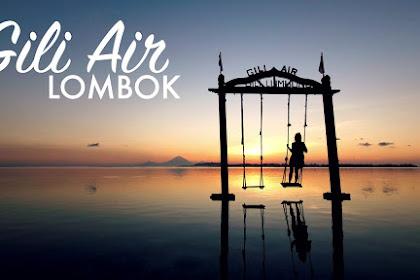Indahnya Gili Air Objek Wisata Alam Di Lombok
