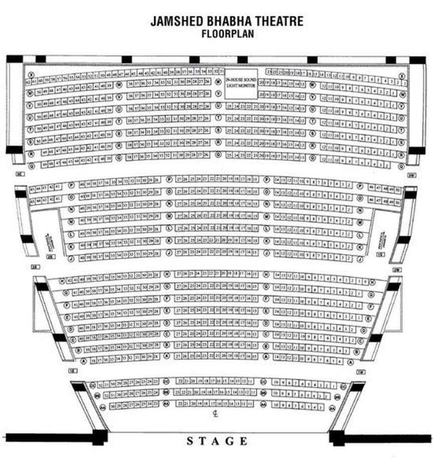 Jamshed Bhabha Theatre, NCPA MUMBAI