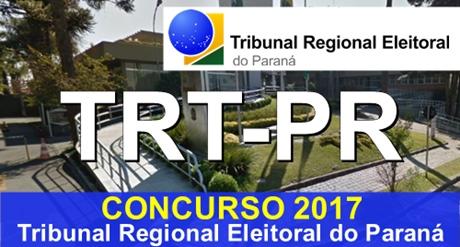 Apostila Concurso TRT-PR Técnico Judiciário 2017