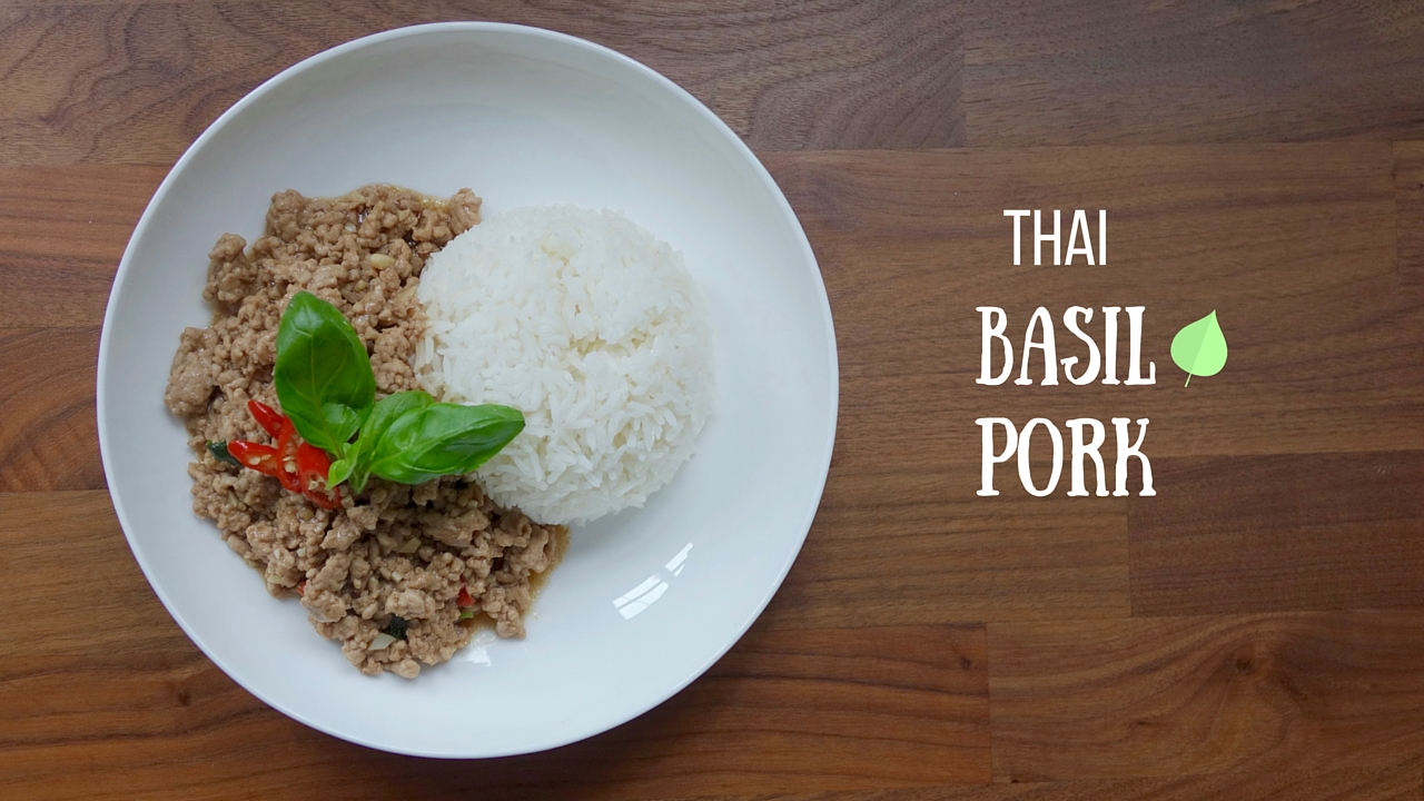 Thai basil pork youtube cooking video no 3 lucy loves to eat im back with another cooking video and this time the lovely hanh shot it in a different style to the first 2 videos i hope you guys like it forumfinder Image collections