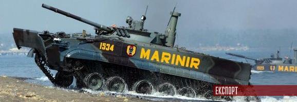Україна поставляє 100-мм снаряди для БМП-3 індонезійської морської піхоти