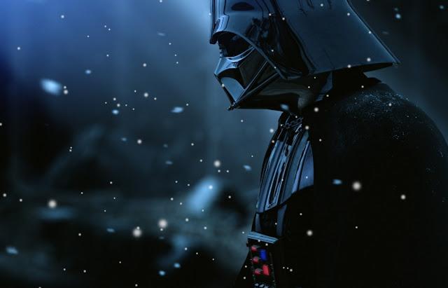 Darth Vader In Snow Wallpaper Engine