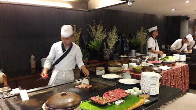 YANAGI restaurant Midas Hotel