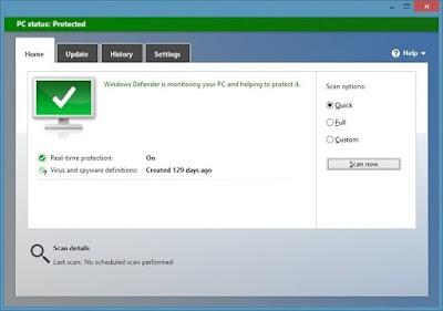 برنامج 2020 Microsoft Security Essentials المجاني من مايكروسوفت لحماية الكمبيوتر من الفايروسات