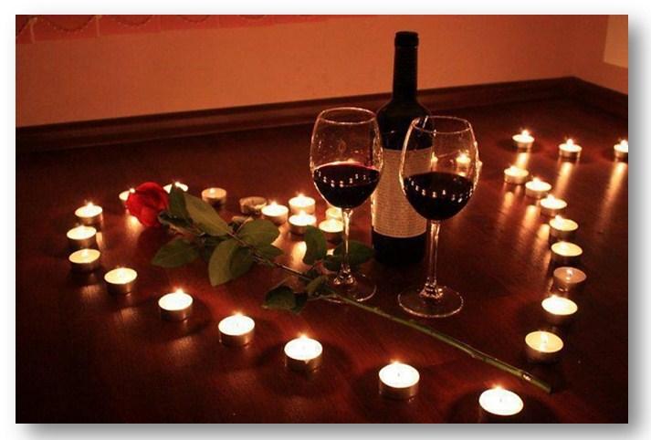 Романтический вечер для двоих дома 100