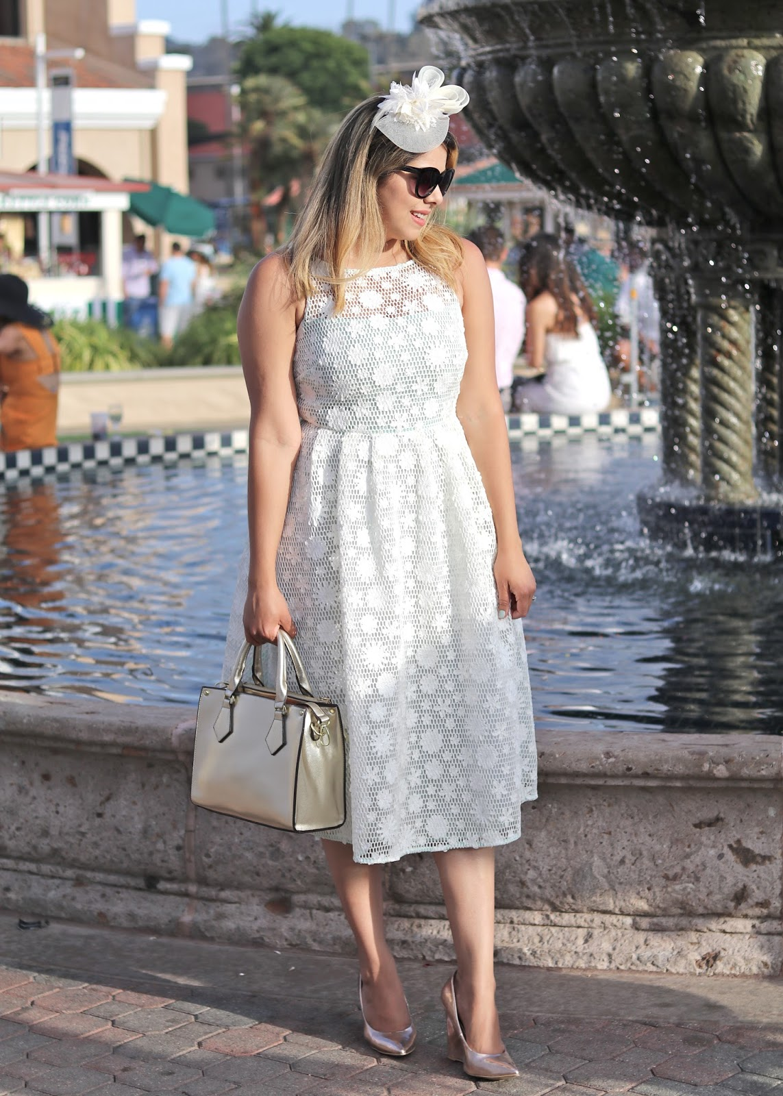 white midi dress, what to wear to your rehearsal dinner, what to wear to your bridal shower, midi white dress asos