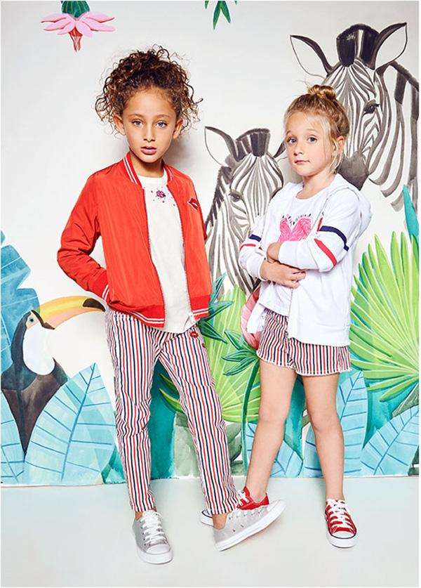 Camperas de verano 2018 para nenas. Moda primavera verano 2018 ropa para niñas.