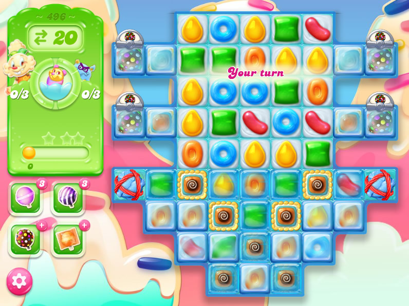 Candy Crush Jelly Saga 496