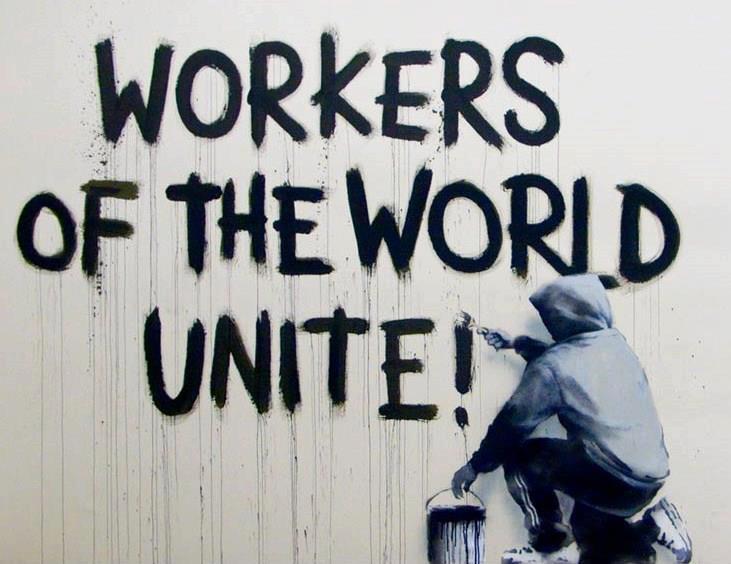 Trabajadores del mundo uníos