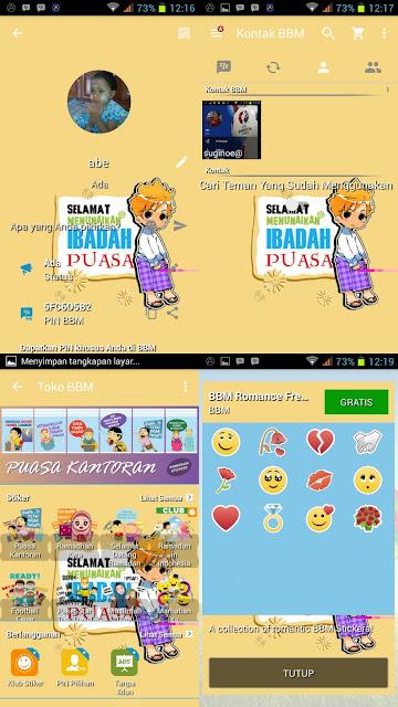 BBM MOD Theme Ramadhan v2.13.1.14 Apk