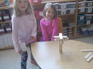 Students working on Keeva Planks