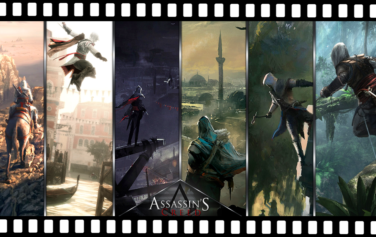 movie Assassin's Creed filming locations video game timeline