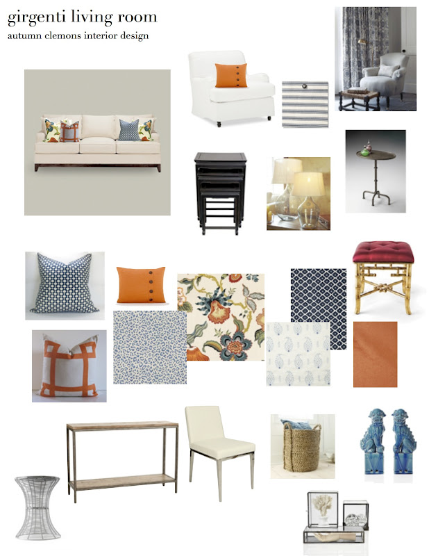 Room Design Program: Design Dump: Design Plan: Casual, Eclectic Family Room