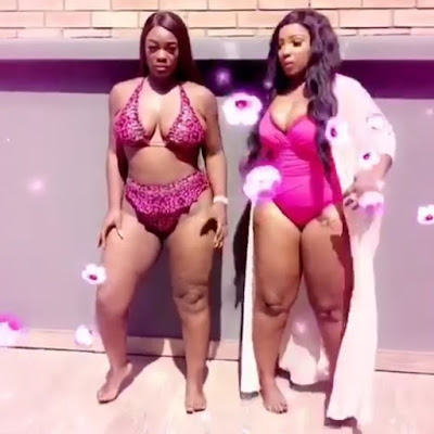 BBN star Uriel and actress Anita Joseph in Bikini (photos)