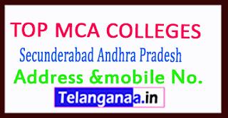 Top MCA Colleges in Secunderabad Andhra Pradesh