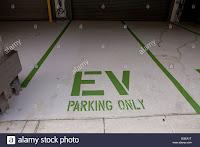 EV parking spot (Credit: alamy.com) Click to Enlarge.