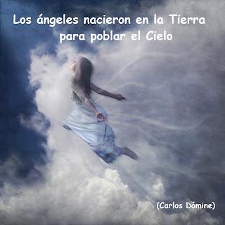 Resultado de imagen de angeles en el cielo en la tierra