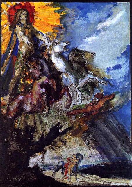 Gustav Moreau art, sun
