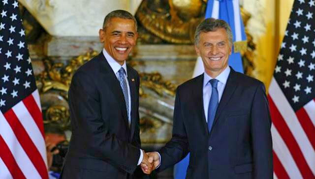 Obama se refirió a Macri como 'el nuevo presidente de la Argentina'