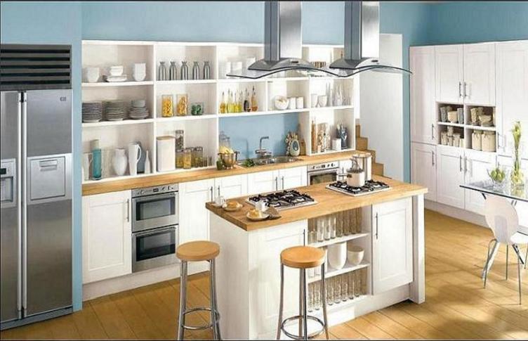 Lindas ideas para cocinas para una casa elegante cocina for Muebles tipo isla para cocina