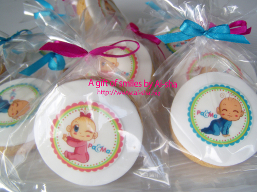 edible image cookies for Pa & Ma