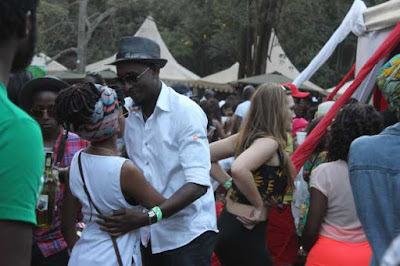 Photos Of Edith Kimani Getting Cozy With Janet Mbugua's Twin Brother In Public